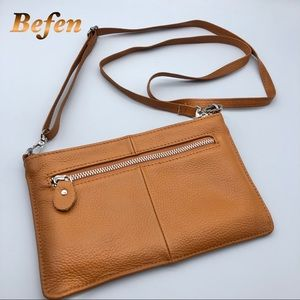 Befen Tan Multifunctional Crossbody